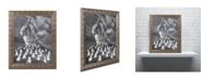 "Trademark Global Moises Levy 'Candle Canyon II' Ornate Framed Art - 20"" x 16"" x 0.5"""