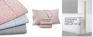 Charter Club CLOSEOUT! Printed 600-Thread Count Sheet Sets, Created for Macy's