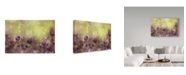 "Trademark Global Delphine Devos 'Purple Dream' Canvas Art - 19"" x 12"" x 2"""