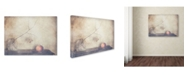 "Trademark Global Delphine Devos 'Fall Leaves Fall' Canvas Art - 19"" x 14"" x 2"""