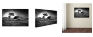 "Trademark Global Peter Elgar 'Winter Is Coming' Canvas Art - 47"" x 30"" x 2"""