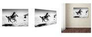 "Trademark Global Murat Yilmaz 'Horseman' Canvas Art - 47"" x 30"" x 2"""