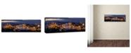 "Trademark Global Thomas D Morkeberg 'Panorama Of Budapest' Canvas Art - 47"" x 16"" x 2"""