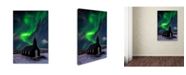 "Trademark Global David Martin Castan 'Church And Sky' Canvas Art - 19"" x 12"" x 2"""