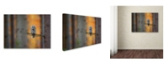 "Trademark Global Milan Zygmunt 'Tawny Owl' Canvas Art - 24"" x 18"" x 2"""