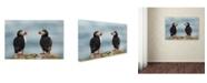 """Trademark Global Milan Zygmunt 'I Love You - I Love You Too' Canvas Art - 47"""" x 30"""" x 2"""""""
