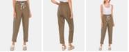 Vince Camuto Linen Slim-Leg Pull-On Pants