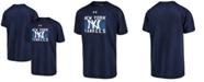 Under Armour Big Boys New York Yankees Logo Tech T-Shirt