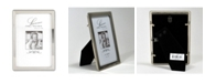 """Lawrence Frames Silver Metal Picture Frame with Delicate Outer Border Of Beads - 4"""" x 6"""""""