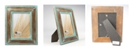 """Lawrence Frames Weathered Wood with Verdigris Wash Picture Frame - 5"""" x 7"""""""