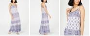 Michael Kors Mosiac Printed Sleevless Maxi Dress, In Regular and Petite