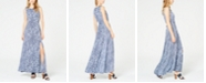Michael Kors Mixed-Print Sleeveless Maxi Dress, In Regular and Petite