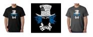 LA Pop Art Mens Word Art T-Shirt - The Mad Hatter