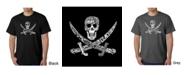 LA Pop Art Mens Word Art T-Shirt - Pirate