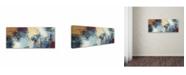 "Trademark Global Masters Fine Art 'Sunrise' Canvas Art - 14"" x 32"""