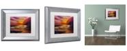 "Trademark Global Manor Shadian 'Coastal Dreams' Matted Framed Art - 11"" x 14"""
