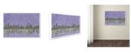 "Trademark Global Viz Art Ink 'Chicagoland' Canvas Art - 14"" x 19"""