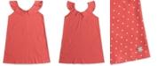 Roxy Big Girls Dot-Print Cotton Top