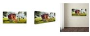 "Trademark Global The Macneil Studio 'Gypsy Caravan' Canvas Art - 12"" x 24"""