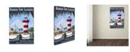 "Trademark Global Lantern Press 'Travel 42' Canvas Art - 12"" x 19"""