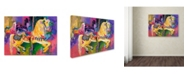 "Trademark Global Richard Wallich 'Artcar 2' Canvas Art - 14"" x 19"""