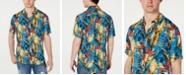 GUESS Men's Rogan Tropical Shirt