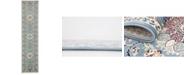 Bayshore Home Bridgeport Home Zara Zar5 Blue 3' x 13' Runner Area Rug