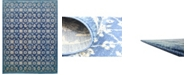 Bridgeport Home Masha Mas1 Navy Blue 10' x 13' Area Rug