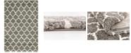 Bridgeport Home Fazil Shag Faz4 Gray 5' x 8' Area Rug