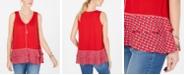 Style & Co Ruffled-Hem Sleeveless Top, Created for Macy's