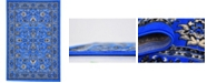 Bridgeport Home Arnav Arn1 Blue 6' x 9' Area Rug