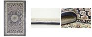 Bridgeport Home Zara Zar1 Navy Blue 5' x 8' Area Rug