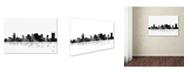 "Trademark Global Marlene Watson 'Nashville Tennessee' Canvas Art - 16"" x 24"""