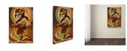 "Trademark Global Lantern Press 'Woman 3' Canvas Art - 16"" x 24"""