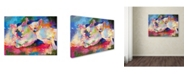 "Trademark Global Richard Wallich 'Mac & Jack' Canvas Art - 18"" x 24"""