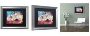 """Trademark Global Richard Wallich 'Mac & Jack' Matted Framed Art - 16"""" x 20"""""""
