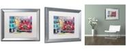 "Trademark Global Richard Wallich 'Old Cars' Matted Framed Art - 16"" x 20"""