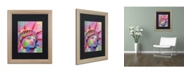 "Trademark Global Richard Wallich 'Lady' Matted Framed Art - 16"" x 20"""