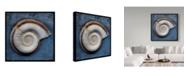 """Trademark Global John W. Golden 'Snail' Canvas Art - 18"""" x 18"""""""
