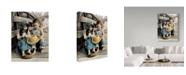 """Trademark Global Sharon Forbes 'Summer Friends' Canvas Art - 18"""" x 24"""""""