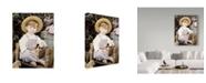 "Trademark Global Sharon Forbes 'Darling Duckling' Canvas Art - 18"" x 24"""