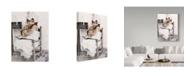 "Trademark Global Sharon Forbes 'Goldilocks' Canvas Art - 18"" x 24"""