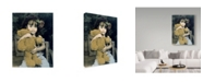 "Trademark Global Sharon Forbes 'Bear Hug' Canvas Art - 18"" x 24"""
