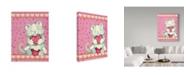 "Trademark Global Valarie Wade 'Heart Snuggles' Canvas Art - 18"" x 24"""