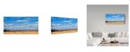 "Trademark Global James W. Johnson 'Agri Nature 15' Canvas Art - 19"" x 10"""