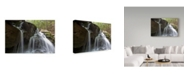 "Trademark Global Ian Tornquist 'Silked Falls' Canvas Art - 24"" x 16"""