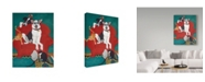 "Trademark Global Jan Panico 'Big Red Chair' Canvas Art - 18"" x 24"""