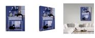 "Trademark Global Jan Panico 'Oscar And Harold' Canvas Art - 18"" x 24"""