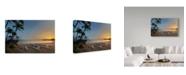 "Trademark Global Jason Matias 'Kahala Hotel' Canvas Art - 19"" x 12"""