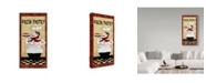 "Trademark Global Jean Plout 'Chefs 1' Canvas Art - 16"" x 32"""